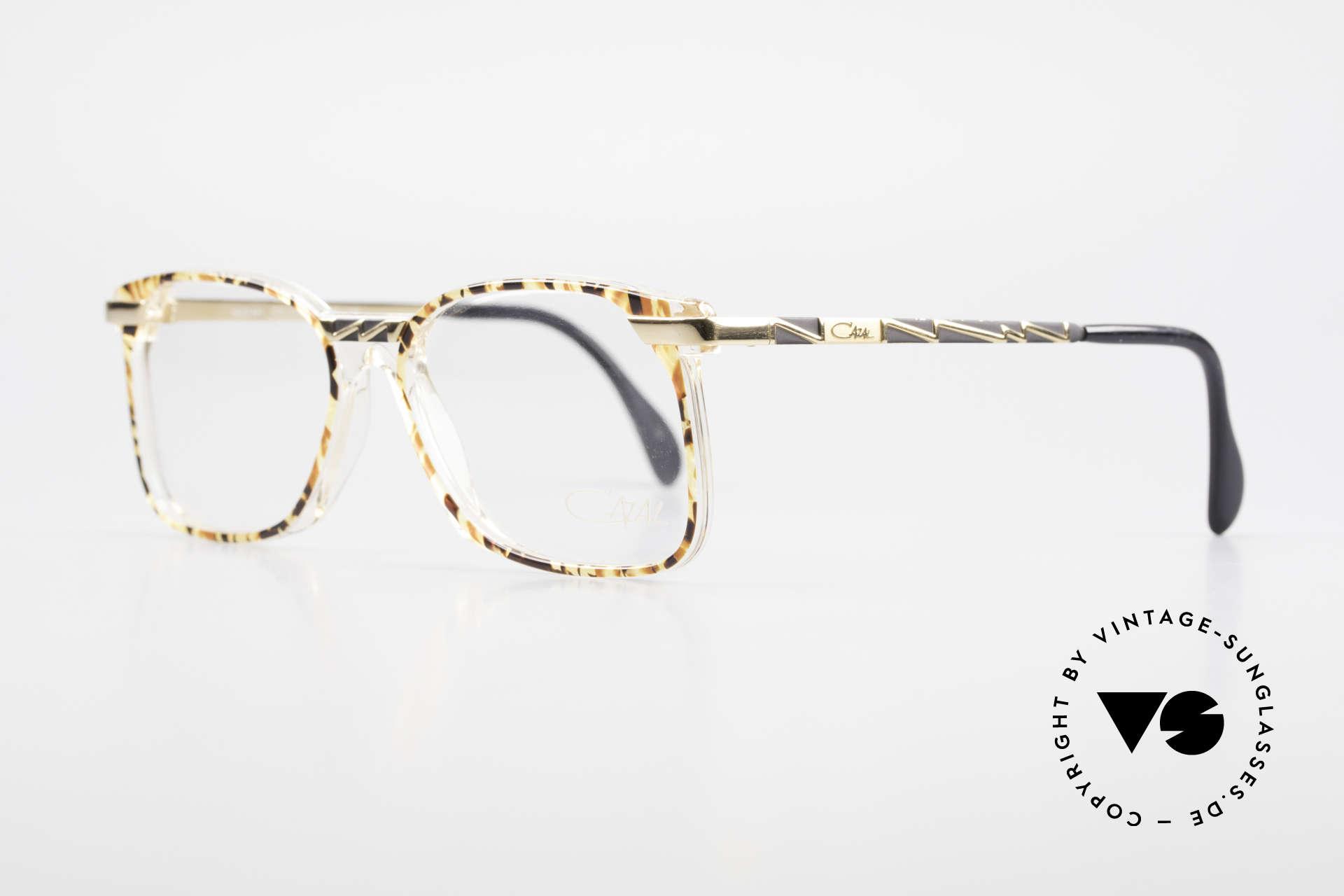 Cazal 341 Alte Vintage Brille No Retro, geniale Trageeigenschaften und Rahmenstabilität, Passend für Herren und Damen