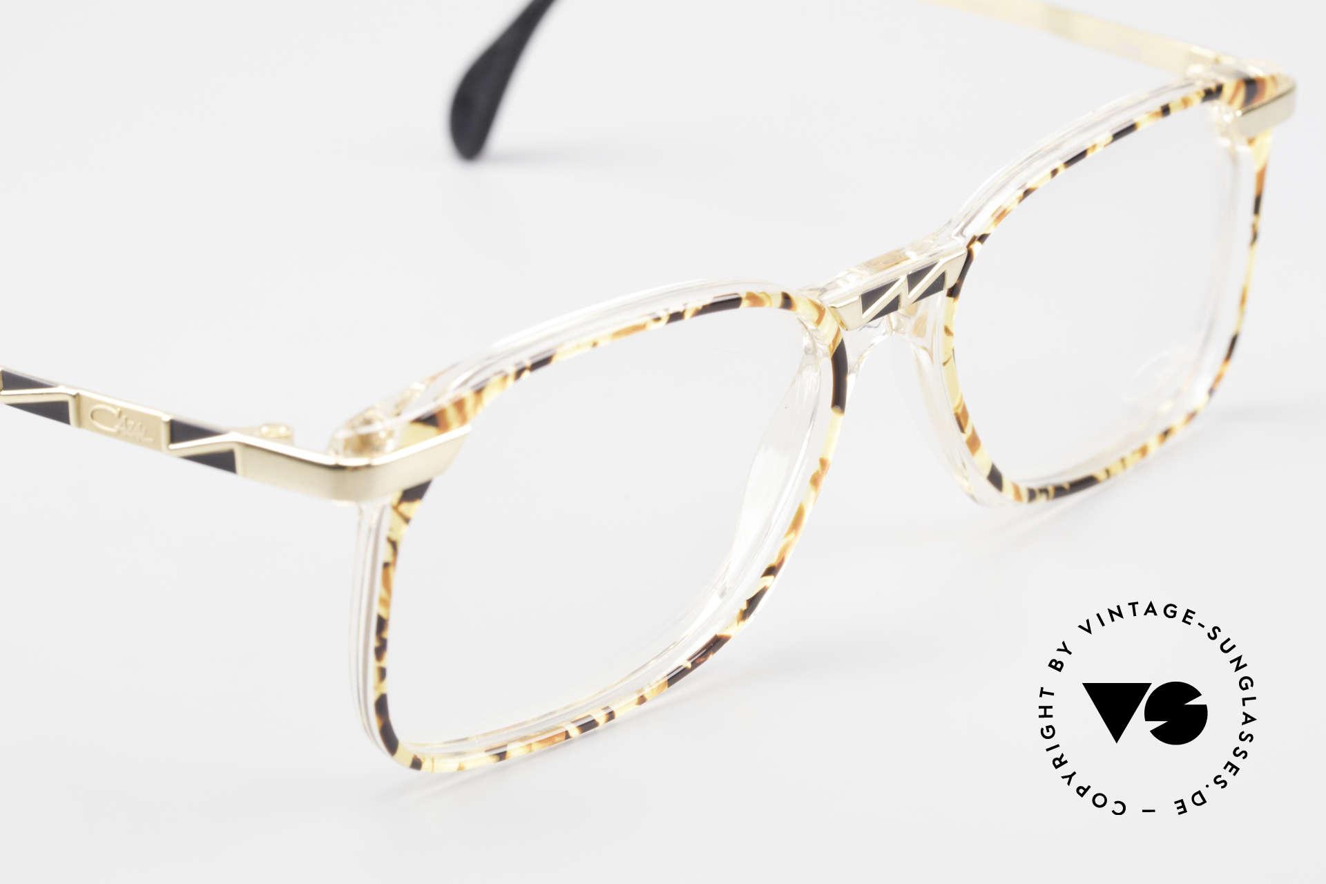 Cazal 341 Alte Vintage Brille No Retro, KEINE Retrobrille, sondern ein altes 90er-Original, Passend für Herren und Damen