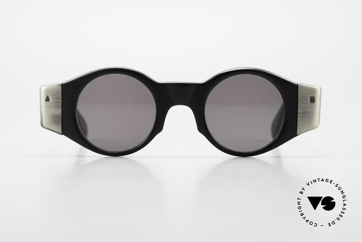 Bada BL686 High End 90er Sonnenbrille, in Los Angeles designed & in Sabae (Japan) produziert, Passend für Herren und Damen