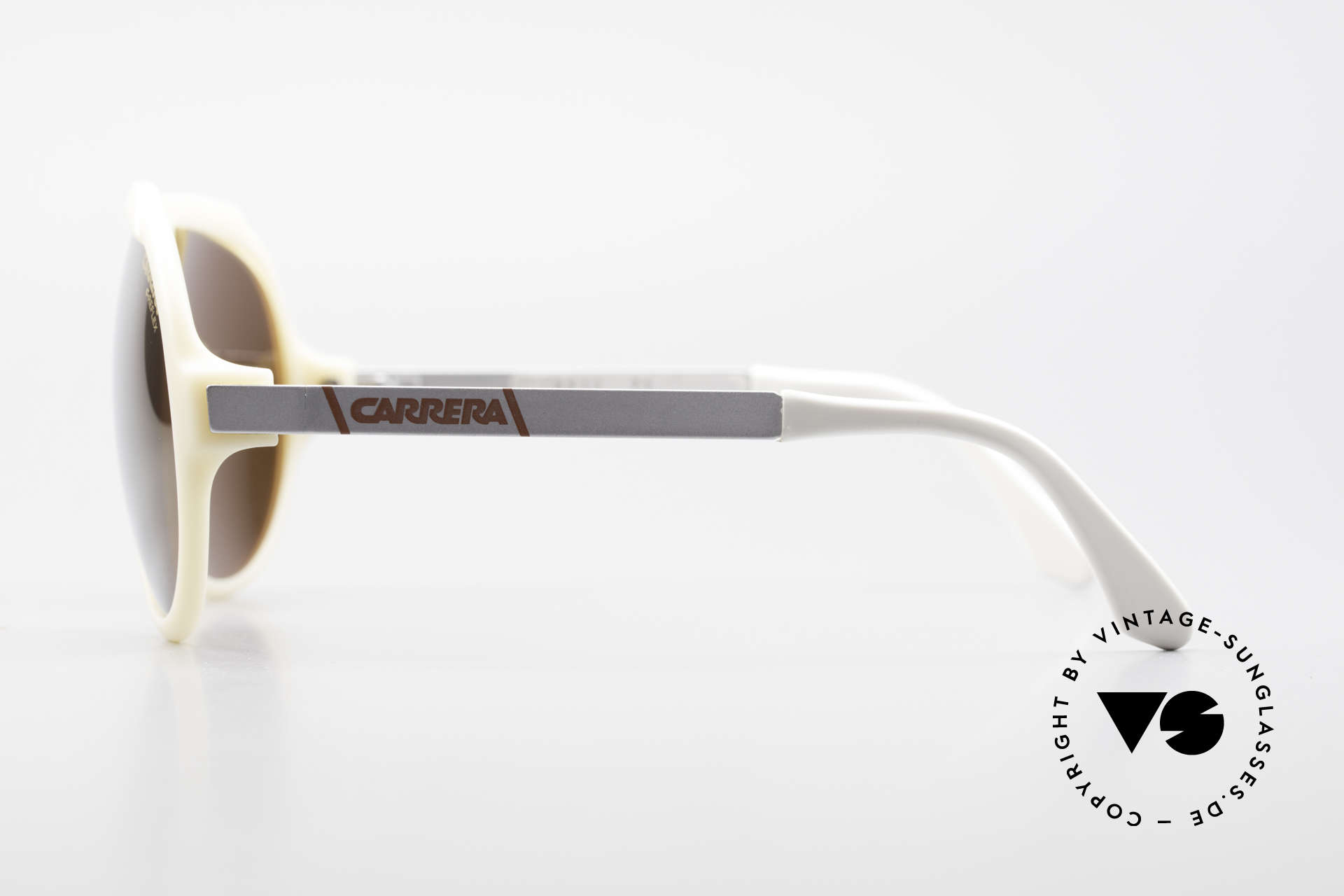 Carrera 5512 Miami Vice Brille Don Johnson, ungetragen & GOLD verspiegelte C-RELEX Sonnengläser, Passend für Herren