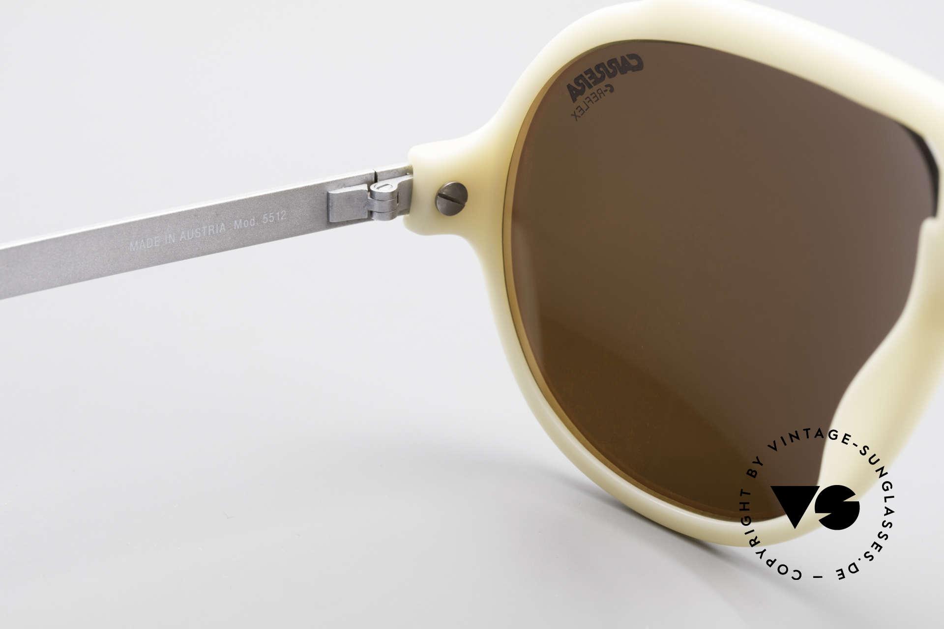 Carrera 5512 Miami Vice Brille Don Johnson, Gläser haben Mini-Kratzerchen; daher auf 269€ reduziert, Passend für Herren