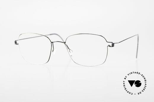 Lindberg Santi Air Titan Rim Klassische Titan Herrenbrille Details
