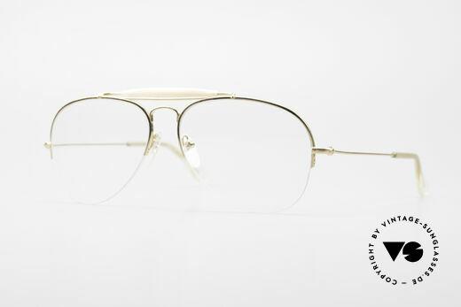 Ray Ban Balfast 810 Gold Doublé Vintage Brille Alt Details