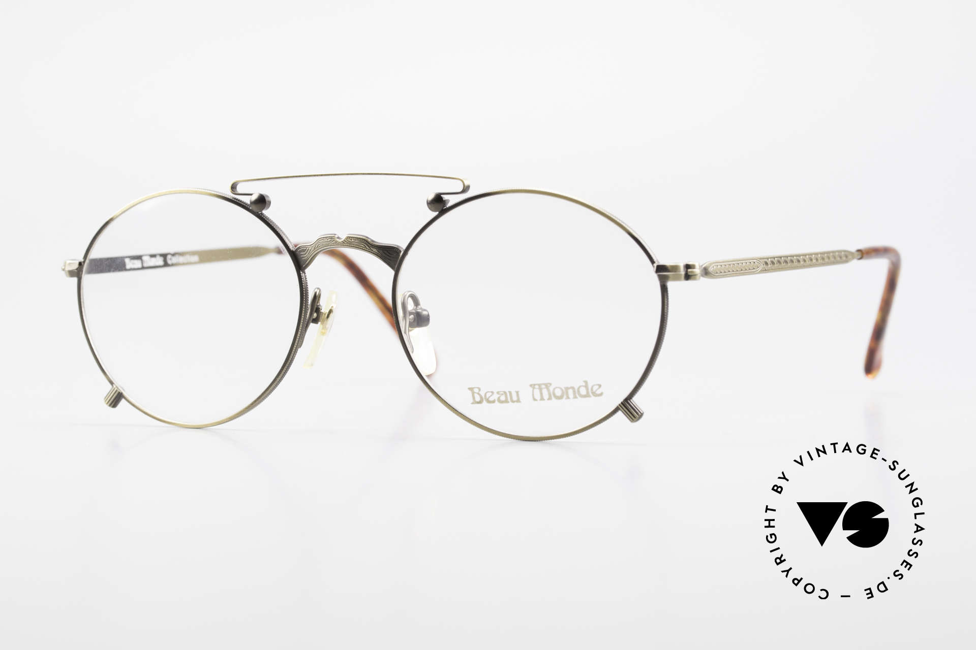 Beau Monde Knightsbridge Alte Vintage Brille 90er Insider, interessante alte vintage Brille; späte 80er / frühe 90er, Passend für Herren und Damen