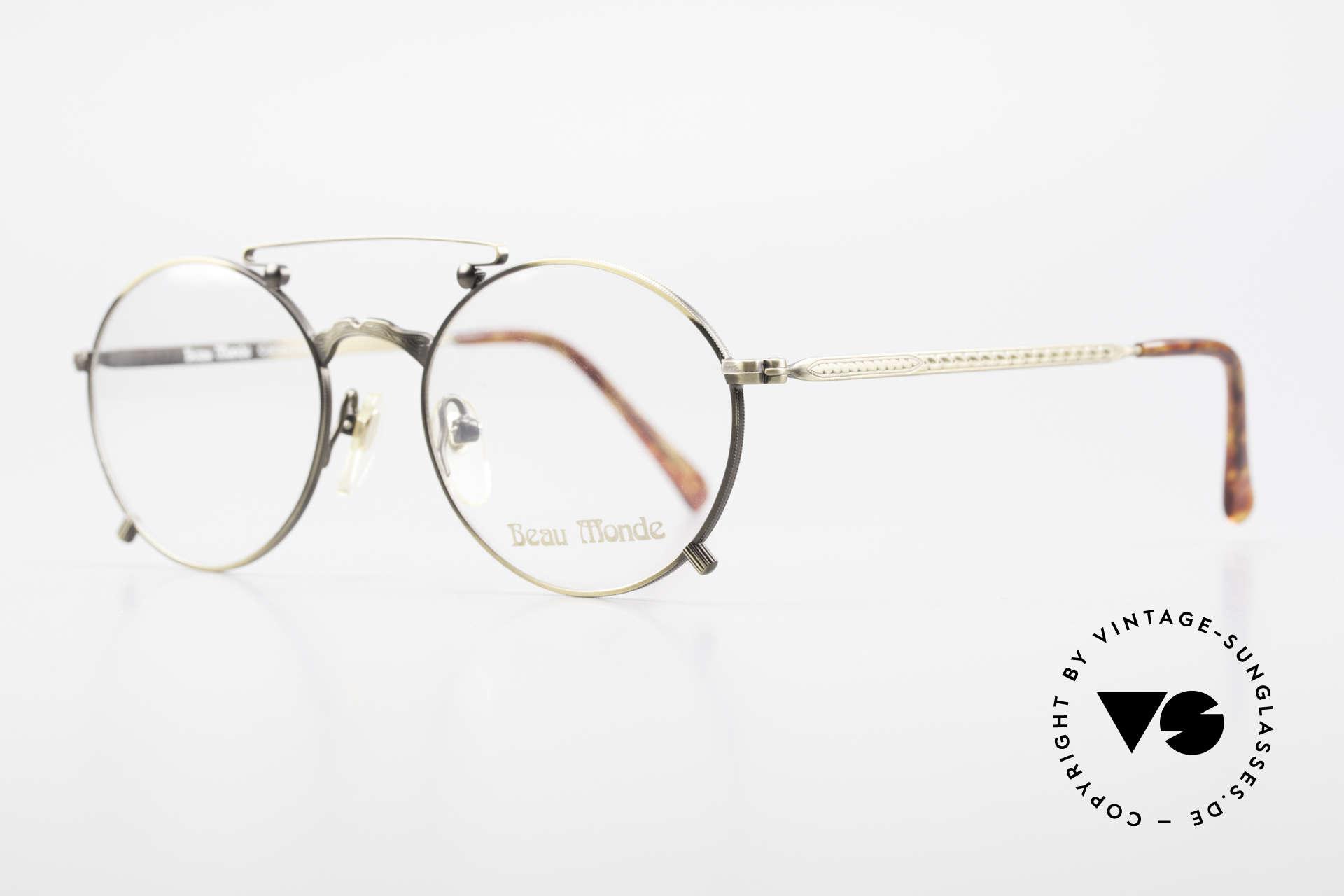 Beau Monde Knightsbridge Alte Vintage Brille 90er Insider, Modell-Namen nach schönen Orten dieser Welt benannt, Passend für Herren und Damen