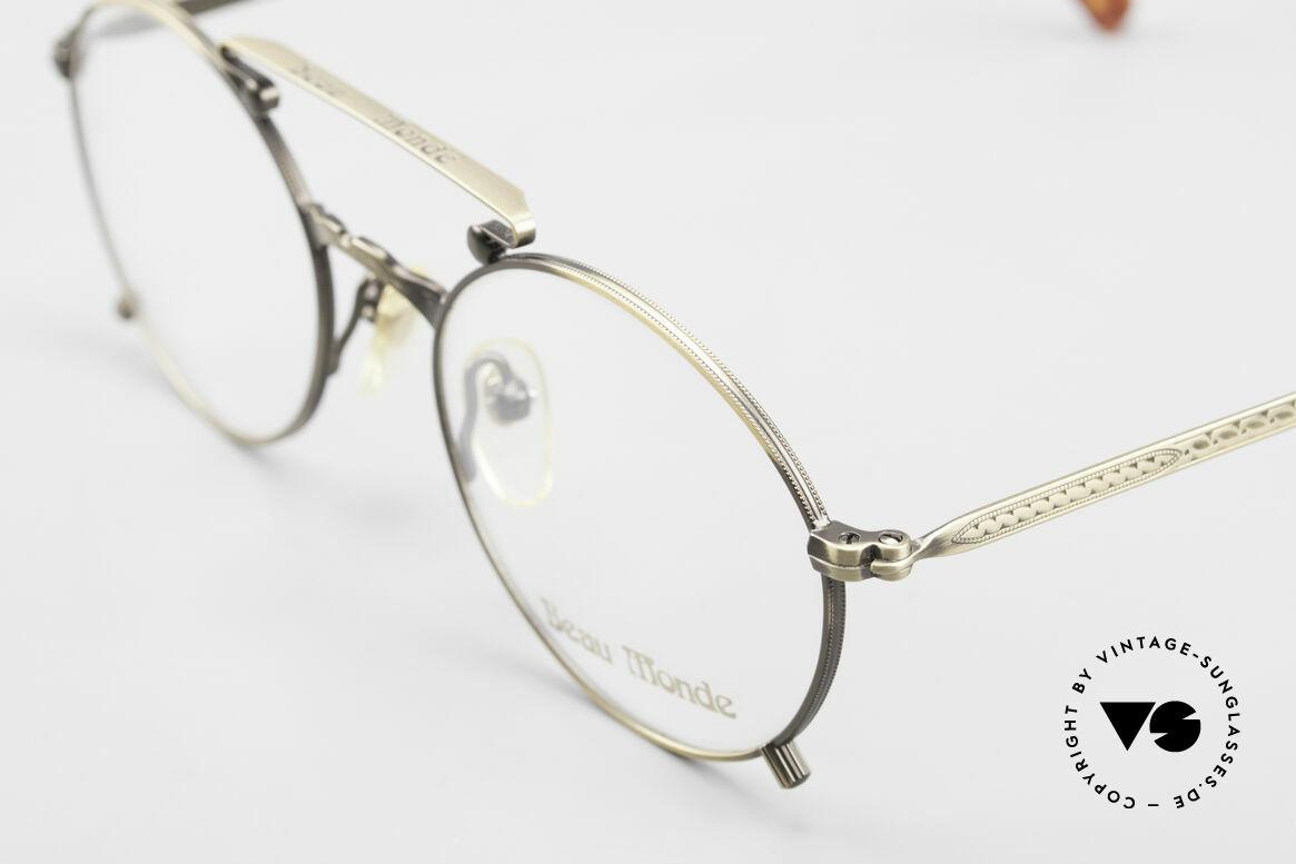 Beau Monde Knightsbridge Alte Vintage Brille 90er Insider, Rahmen mit viel Liebe zum Detail; aufwändige Gravuren, Passend für Herren und Damen