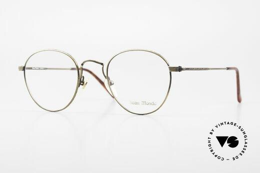 Beau Monde Sterling Alte Vintage Brille 90er Panto Details