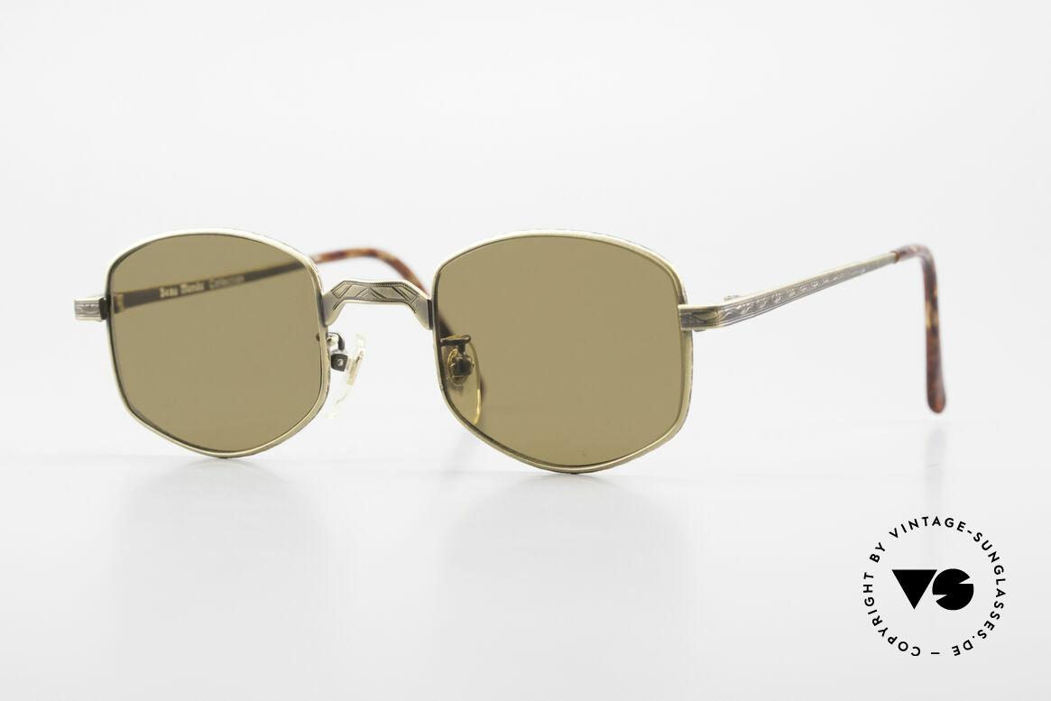 Beau Monde Dover Alte 90er Insider Sonnenbrille, interessante alte vintage Brille; späte 80er / frühe 90er, Passend für Herren und Damen