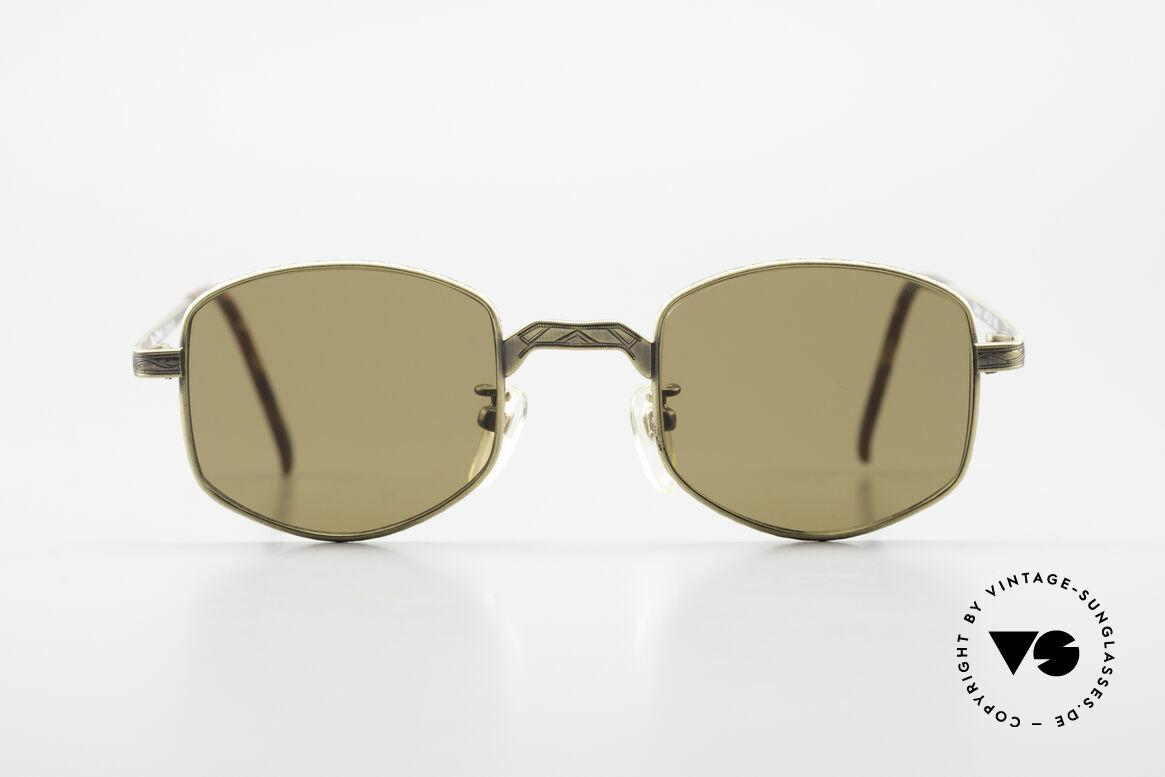 Beau Monde Dover Alte 90er Insider Sonnenbrille, französische Name sagt alles 'Beau Monde' = schöne Welt, Passend für Herren und Damen