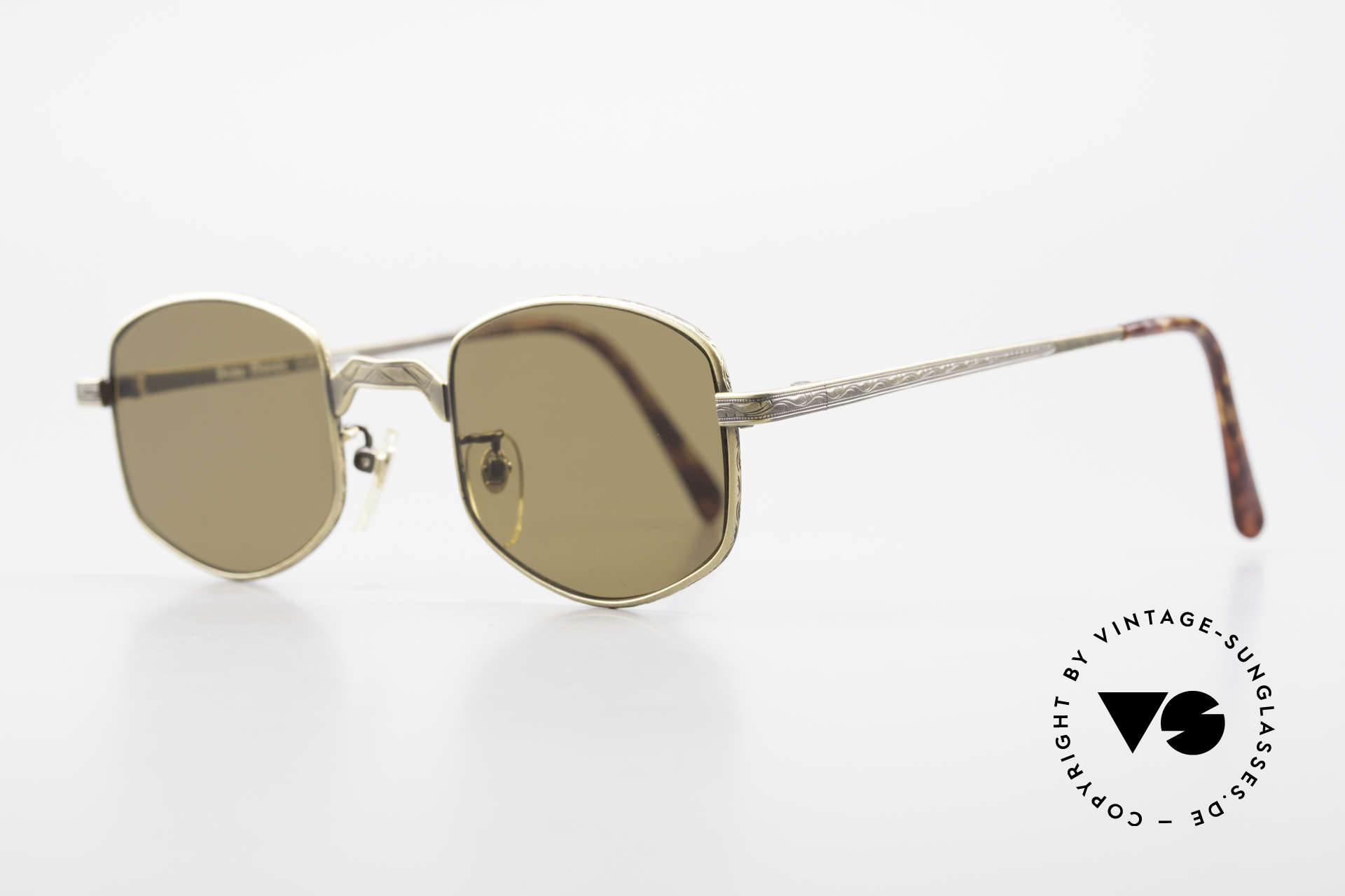 Beau Monde Dover Alte 90er Insider Sonnenbrille, Modell-Namen nach schönen Orten dieser Welt benannt, Passend für Herren und Damen