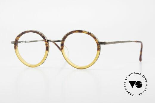 Beau Monde Rhodes Runde Alte Vintage Brille 90er Details