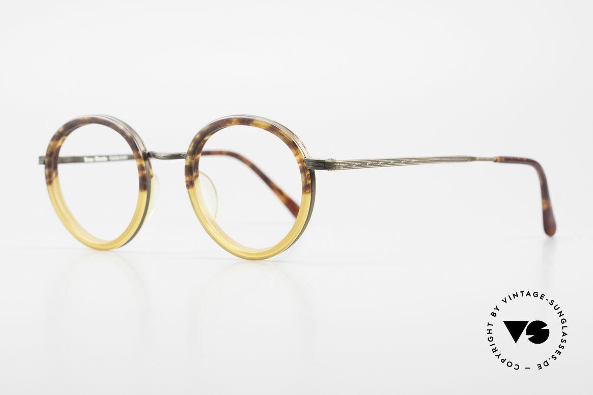Beau Monde Rhodes Runde Alte Vintage Brille 90er, Modell-Namen nach schönen Orten dieser Welt benannt, Passend für Herren und Damen