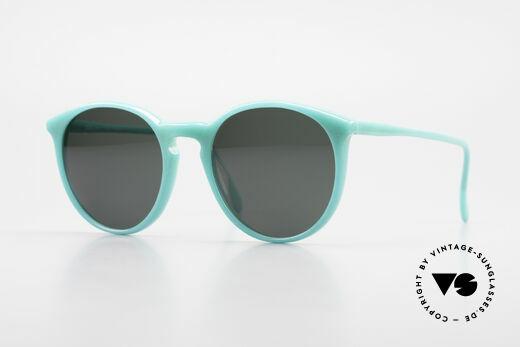 Alain Mikli 901 / 079 80er Panto Brille Green Pearl Details