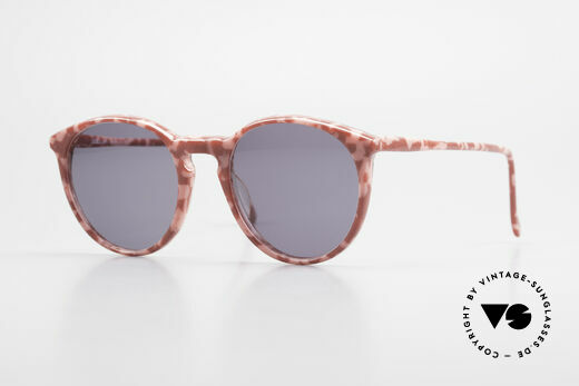 Alain Mikli 901 / 172 Sonnenbrille Rot Pink Marmor Details