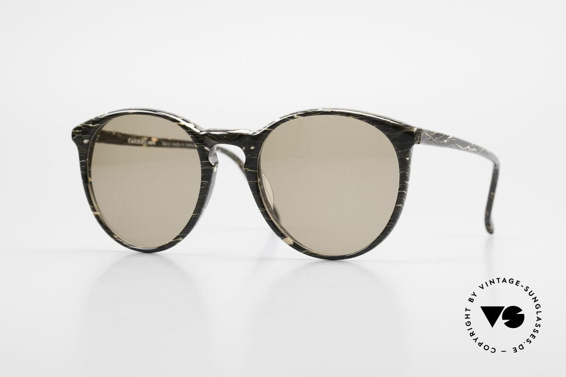 Alain Mikli 901 / 429 80er Brille Braun Marmoriert, elegante ALAIN MIKLI Paris Designer-Sonnenbrille, Passend für Herren und Damen
