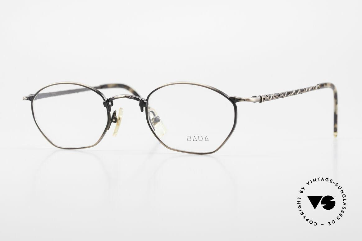 Bada BL1353 Oliver Peoples Eyevan Style, alte vintage BADA Brillenfassung aus dem Jahre 1994, Passend für Herren und Damen