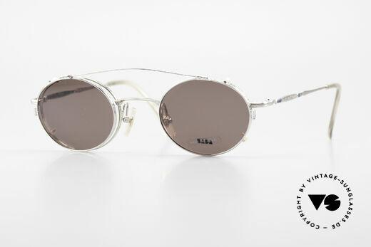 Bada BL1581 90er Brille Mit Sonnen Clip Details