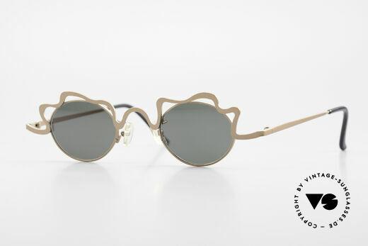 Theo Belgium Tortelini Spaghetti Sonnenbrille 90er Details