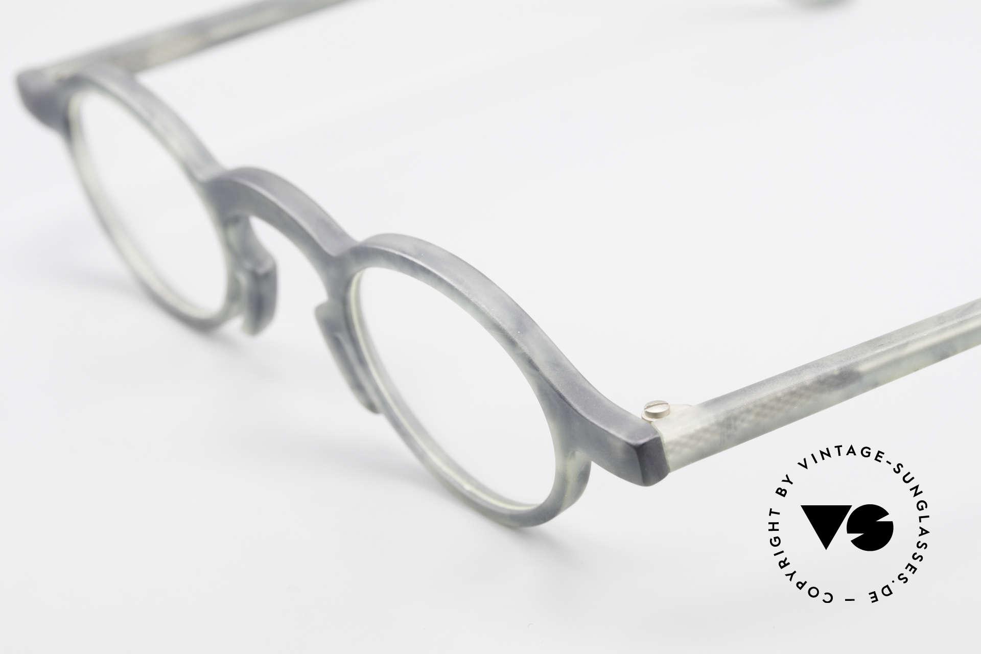 Theo Belgium Phone Interessantes Brillenmuster, eine wirklich außergewöhnliche Maserung der Fassung, Passend für Herren und Damen