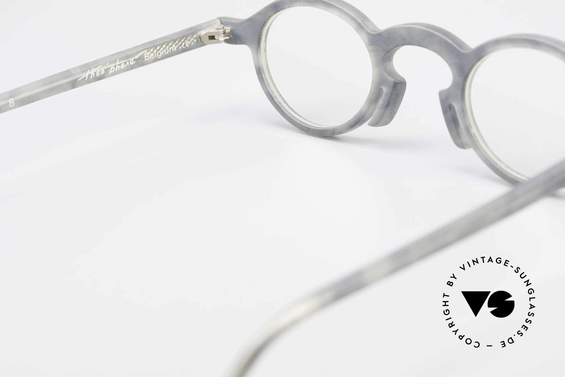 Theo Belgium Phone Interessantes Brillenmuster, sozusagen: eine Designer-Brille mit Symbol-Charakter, Passend für Herren und Damen