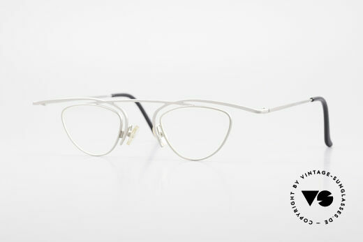 Theo Belgium Rhum Trendsetter Damenbrille XL Details