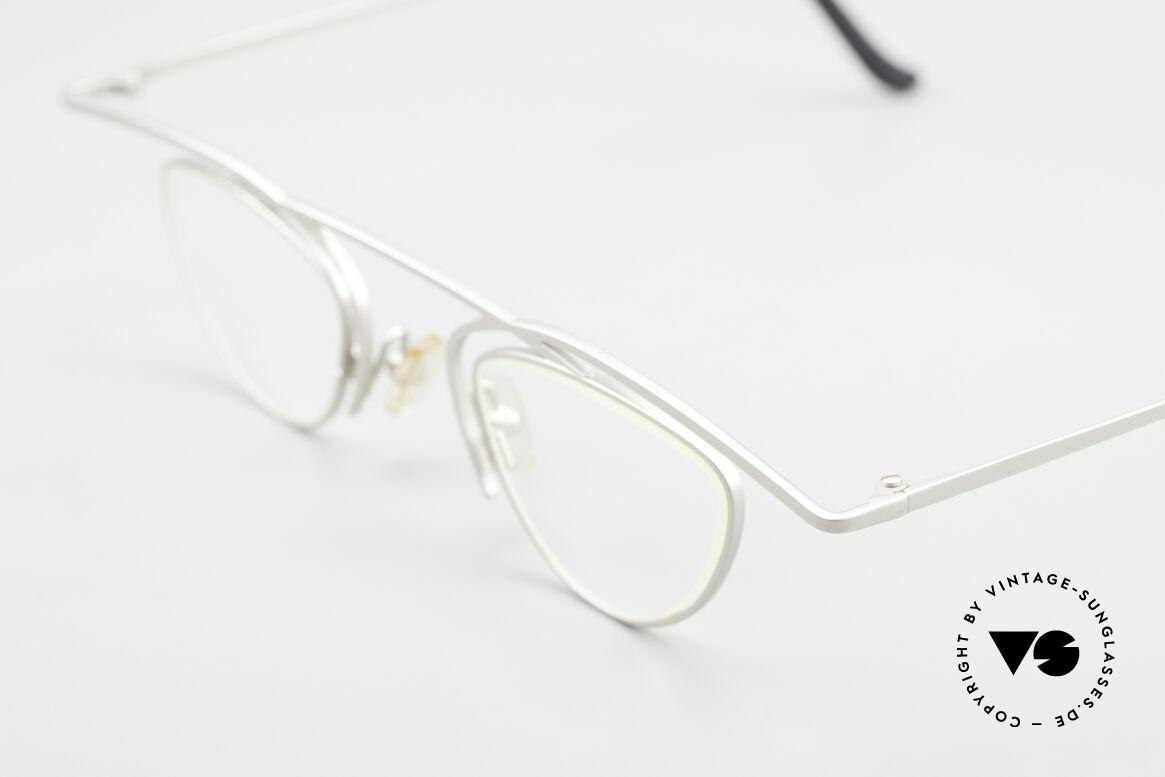 Theo Belgium Rhum Trendsetter Damenbrille XL, wirklich außergewöhnliche Fassung in Top-Qualität!, Passend für Damen