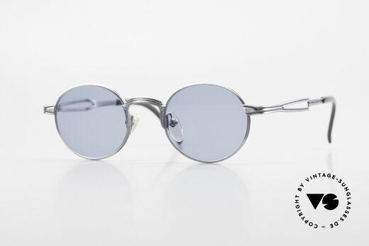 Jean Paul Gaultier 55-7107 Kleine Runde Vintage Brille Details
