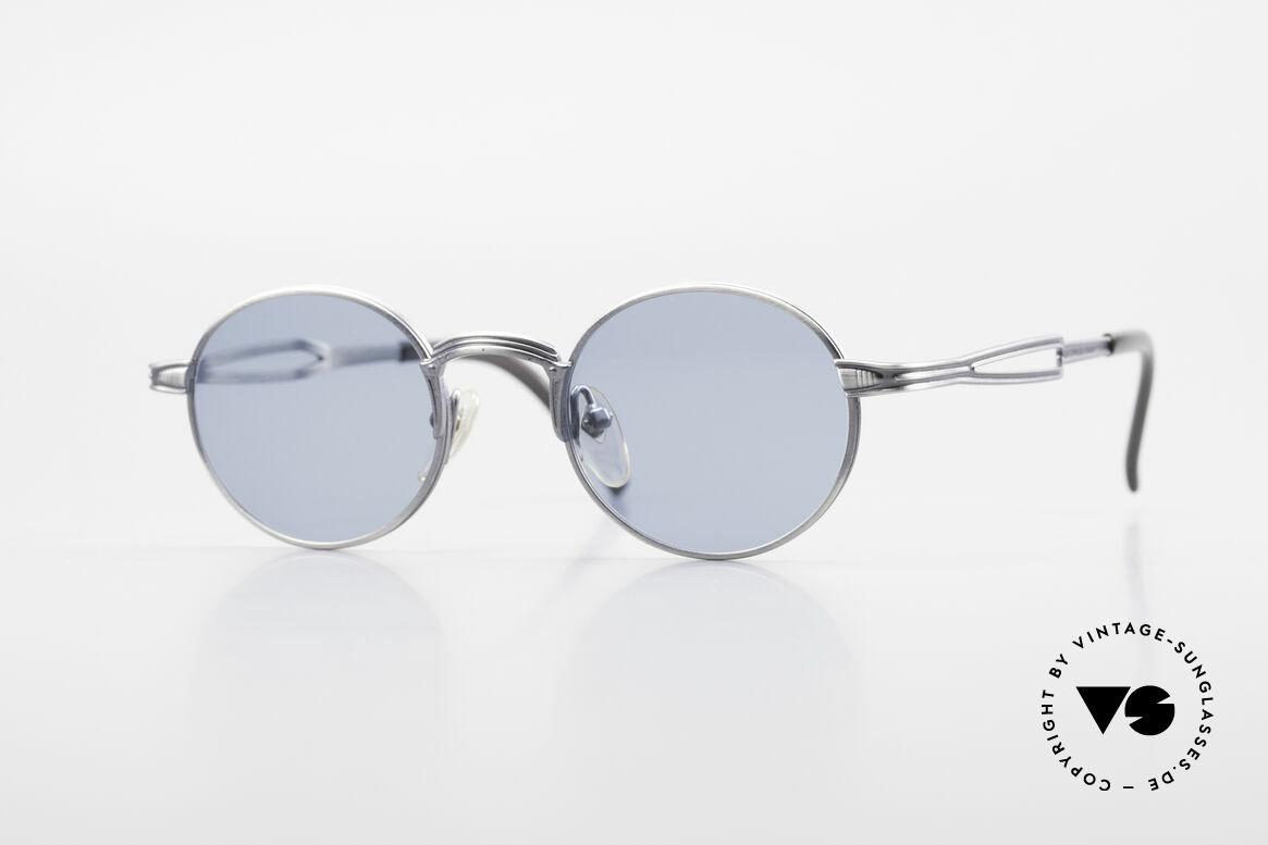 Jean Paul Gaultier 55-7107 Kleine Runde Vintage Brille, kleine, runde vintage Brille von Jean Paul GAULTIER, Passend für Herren und Damen