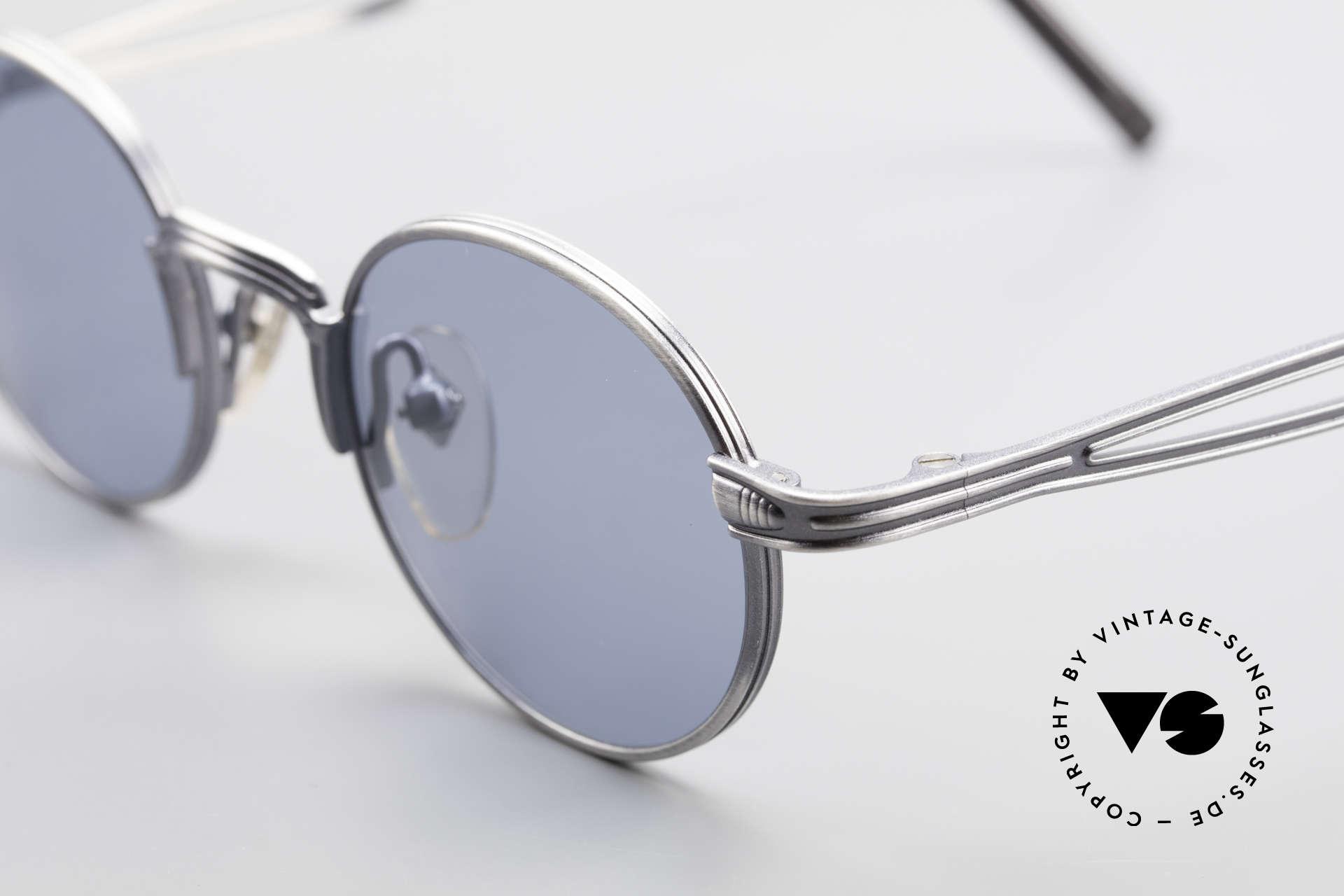 Jean Paul Gaultier 55-7107 Kleine Runde Vintage Brille, unbenutzt (wie alle unsere vintage GAULTIER Brillen), Passend für Herren und Damen
