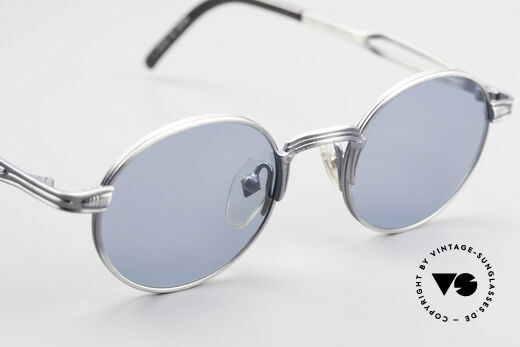 Jean Paul Gaultier 55-7107 Kleine Runde Vintage Brille, KEINE RETRObrille, ein kostbares ORIGINAL von 1997, Passend für Herren und Damen