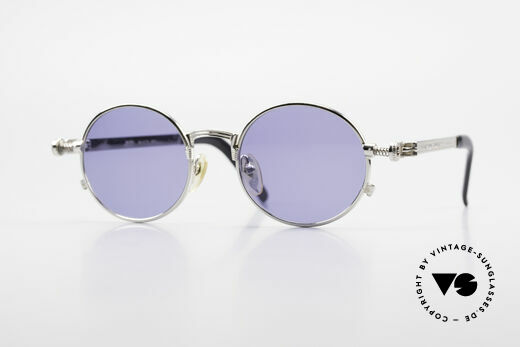 Jean Paul Gaultier 56-4178 Runde Industrial Vintage Brille Details