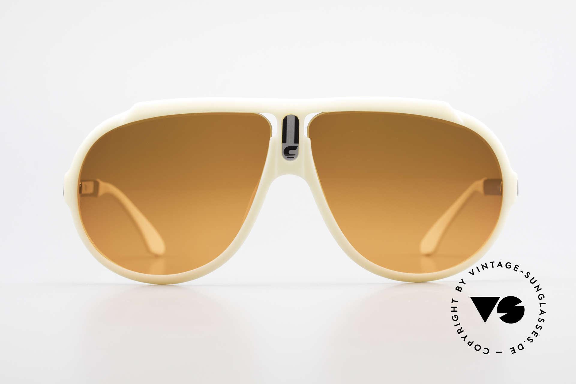 Carrera 5512 Miami Vice Sunset Sonnenbrille, berühmte Filmsonnenbrille von 1984 (echter Klassiker), Passend für Herren