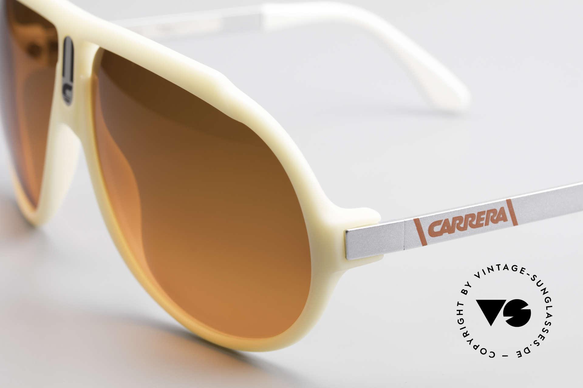 Carrera 5512 Miami Vice Sunset Sonnenbrille, ungetragen und mit SUNSET (Abendrot) Sonnengläsern, Passend für Herren