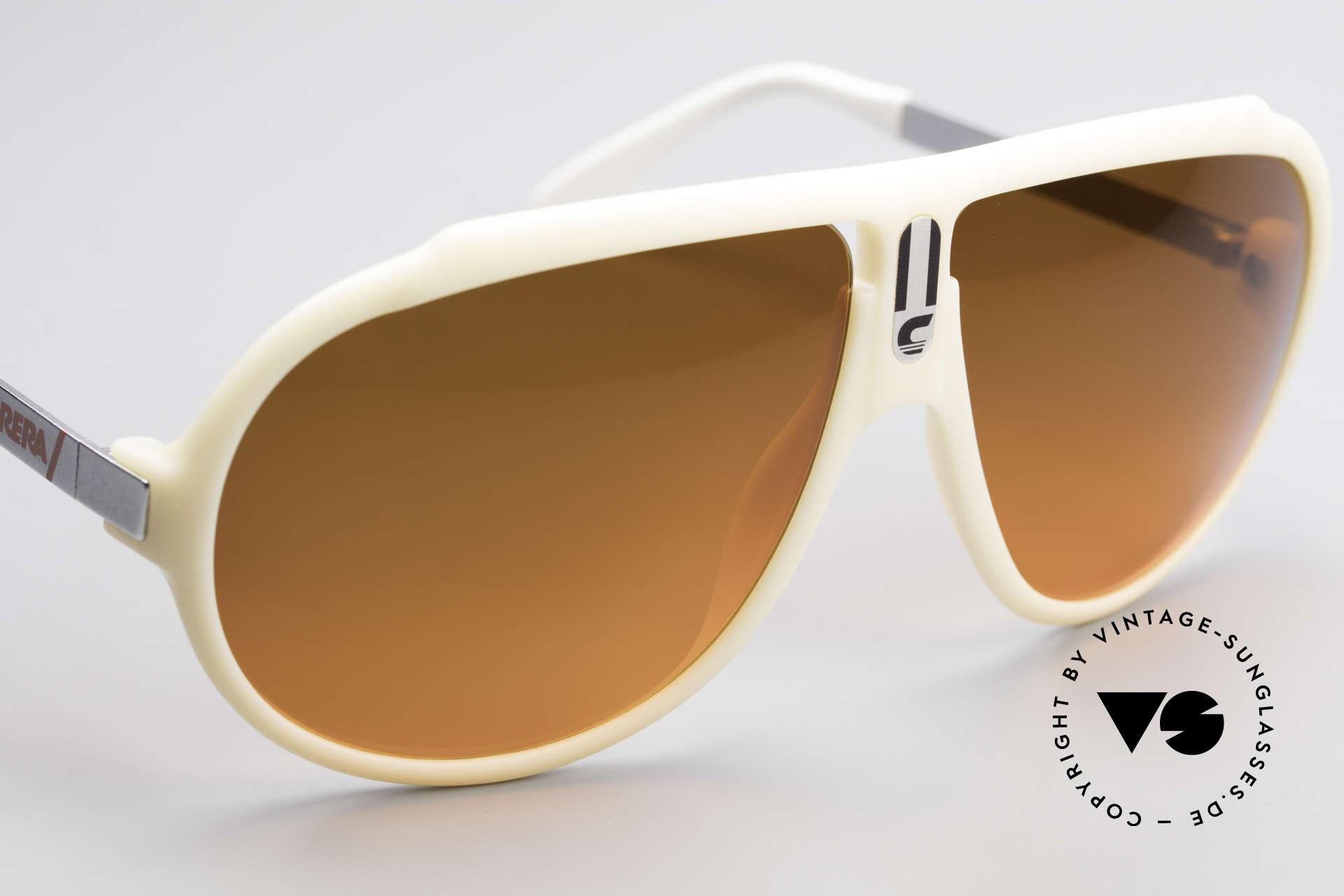 Carrera 5512 Miami Vice Sunset Sonnenbrille, KEINE RETROBRILLE, sondern ein altes 80er ORIGINAL, Passend für Herren