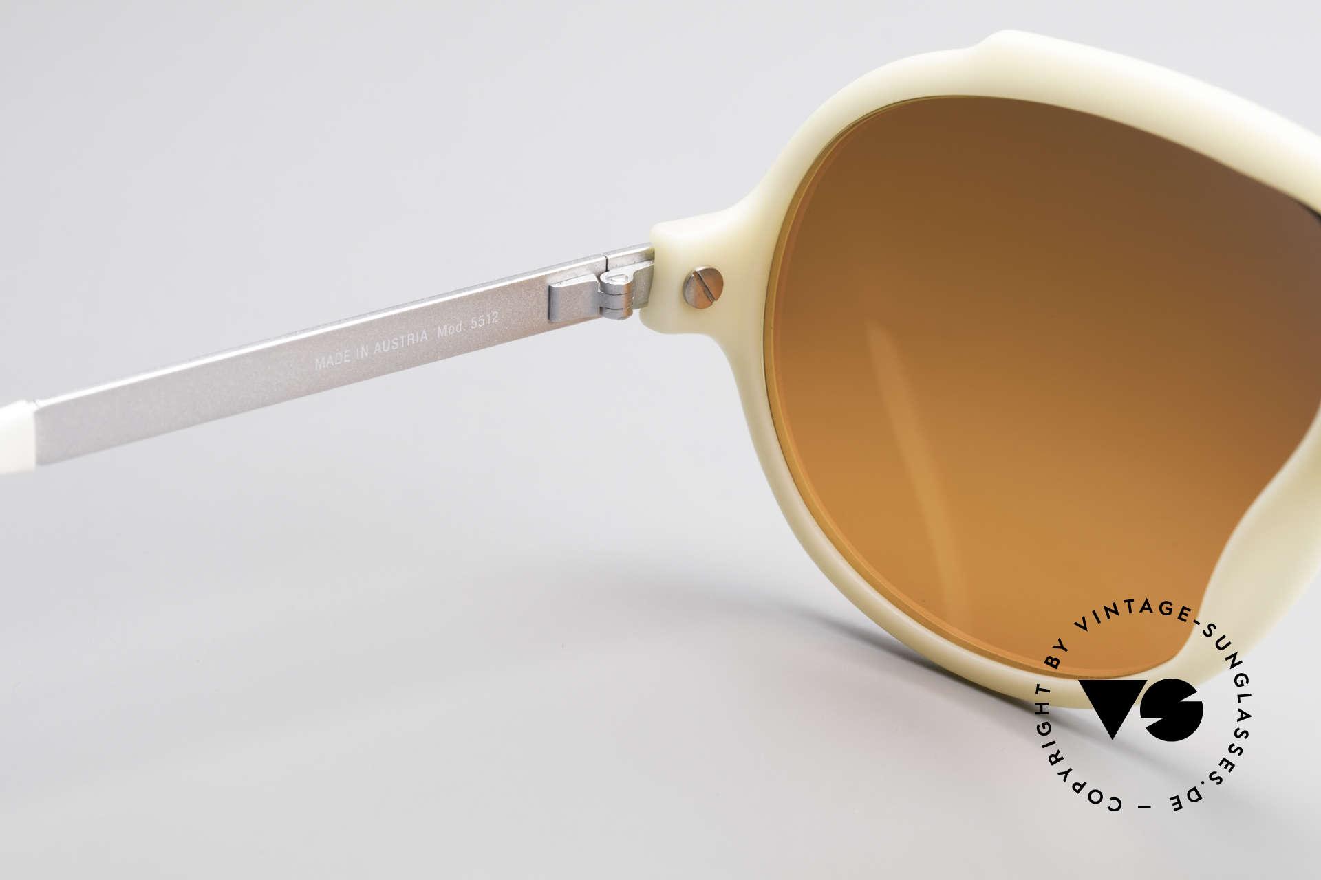 Carrera 5512 Miami Vice Sunset Sonnenbrille, sehr massiv, dennoch komfortabel dank OPTYL-Material, Passend für Herren