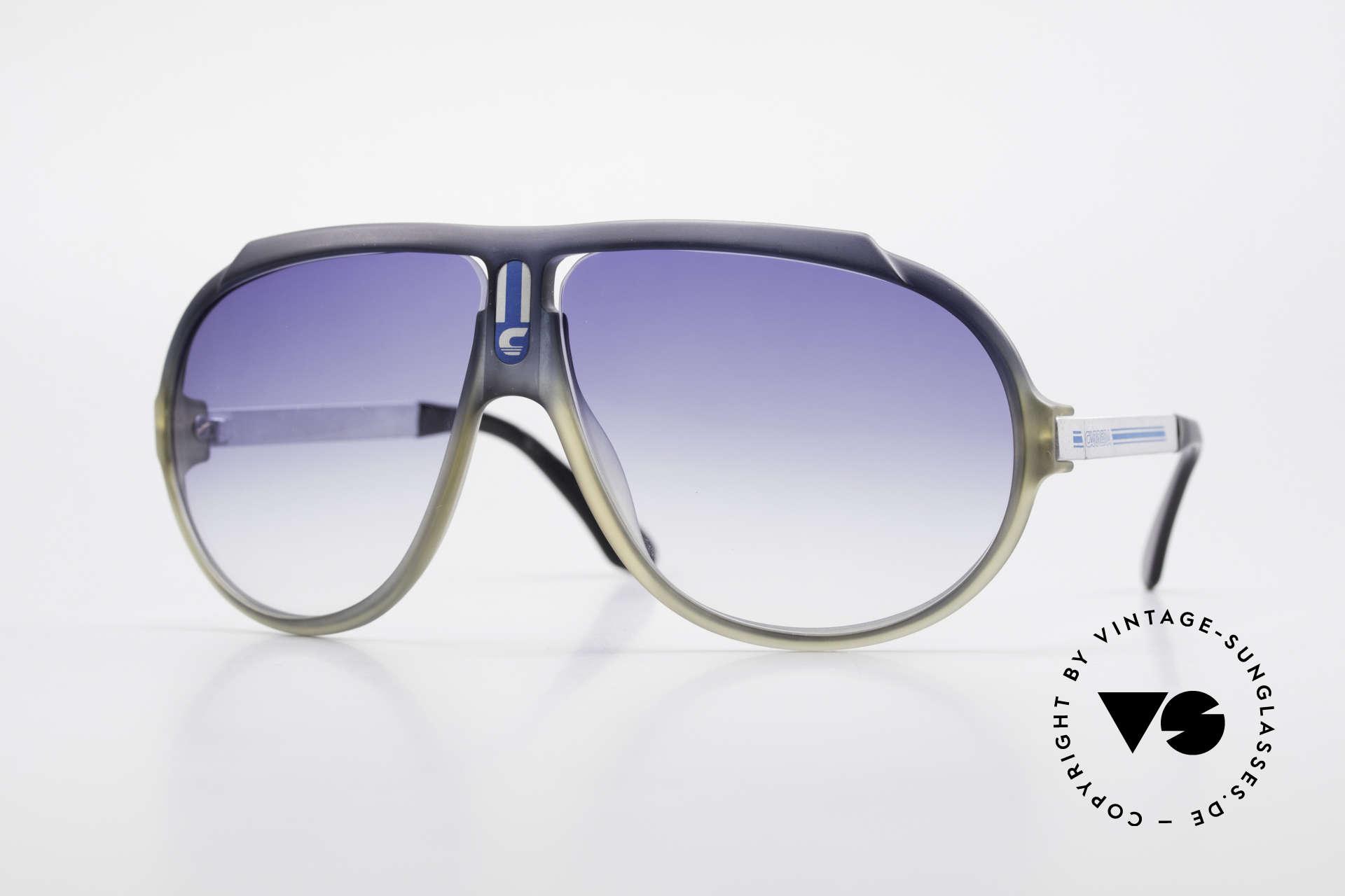 Carrera 5512 Miami Vice 80er Sonnenbrille, legendäre Carrera vintage Sonnenbrille in Top-Qualität, Passend für Herren