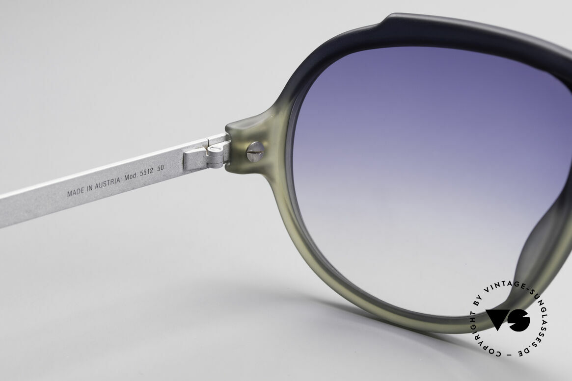 Carrera 5512 Miami Vice 80er Sonnenbrille, sehr massiv, dennoch komfortabel dank OPTYL-Material, Passend für Herren