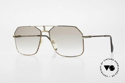 Cazal 721 Alte 80er Herren Pilotenbrille Details
