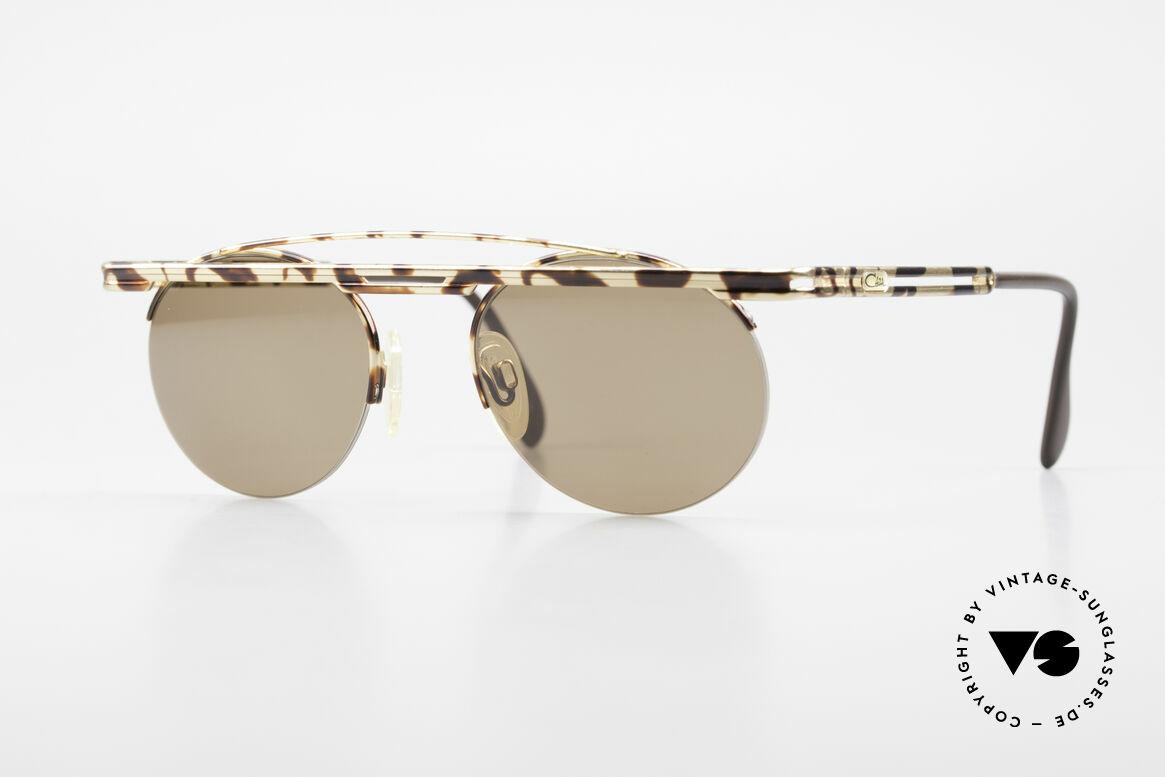 Cazal 748 90er Sonnenbrille No Retro, interessante Cazal VINTAGE Sonnenbrille von 1997, Passend für Herren und Damen