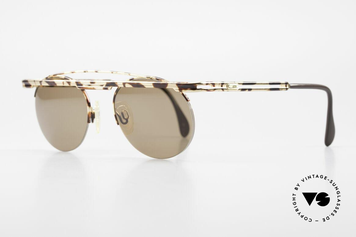 Cazal 748 90er Sonnenbrille No Retro, aufwändige Lackierung (typisch für die alten Cazals), Passend für Herren und Damen