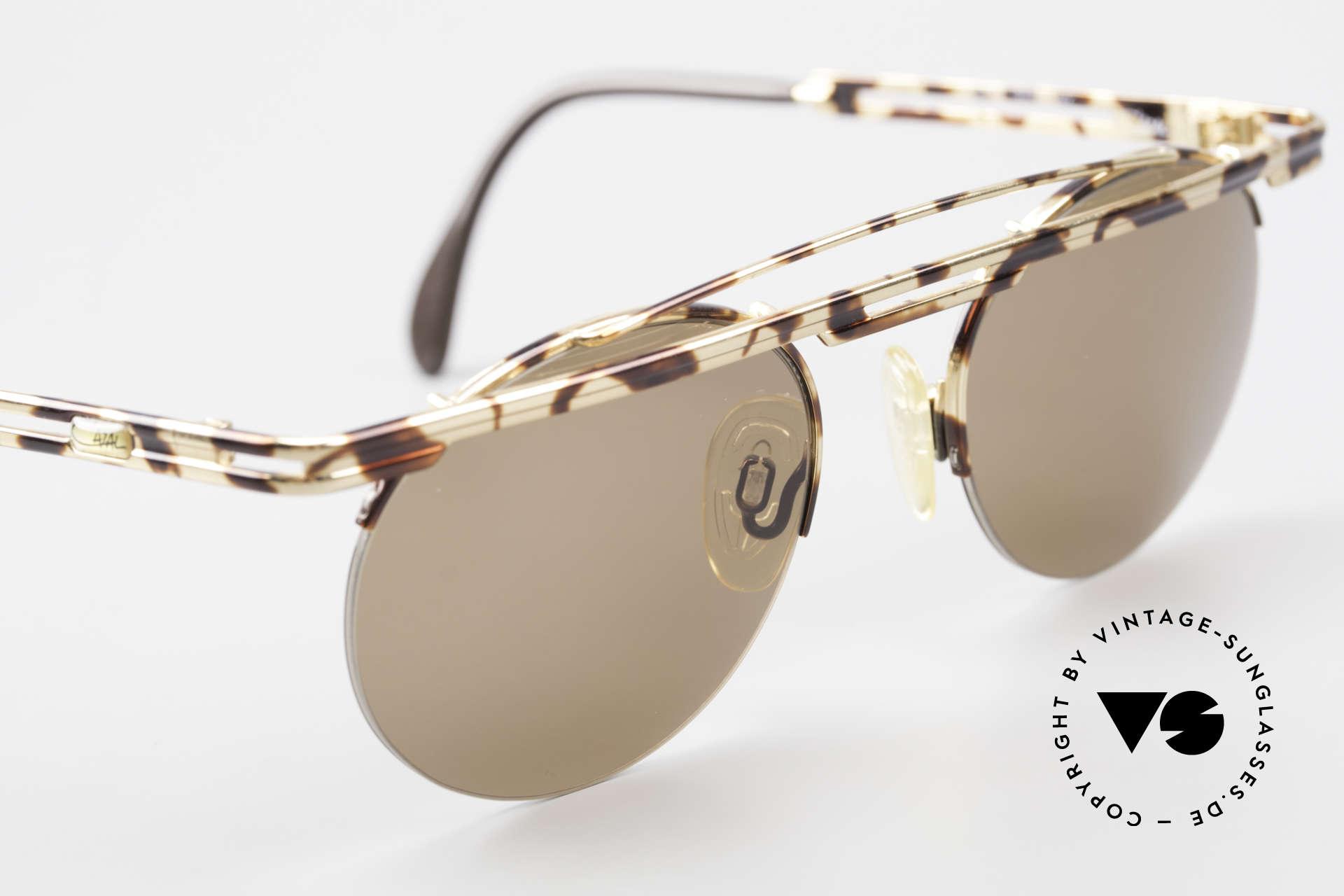 Cazal 748 90er Sonnenbrille No Retro, fühlbare Top-Qualität und Komfort (made in Germany), Passend für Herren und Damen