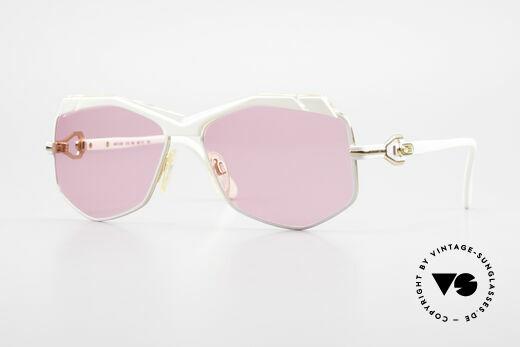 Cazal 230 Pinke Cazal Sonnenbrille 80er Details