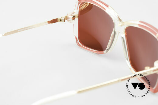 Cazal 177 3D Rot Designer Sonnenbrille, die knalligen 3D Gläser können getauscht werden, Passend für Damen