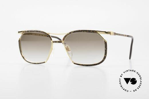 Cazal 243 Cari Zalloni Sonnenbrille 90er Details