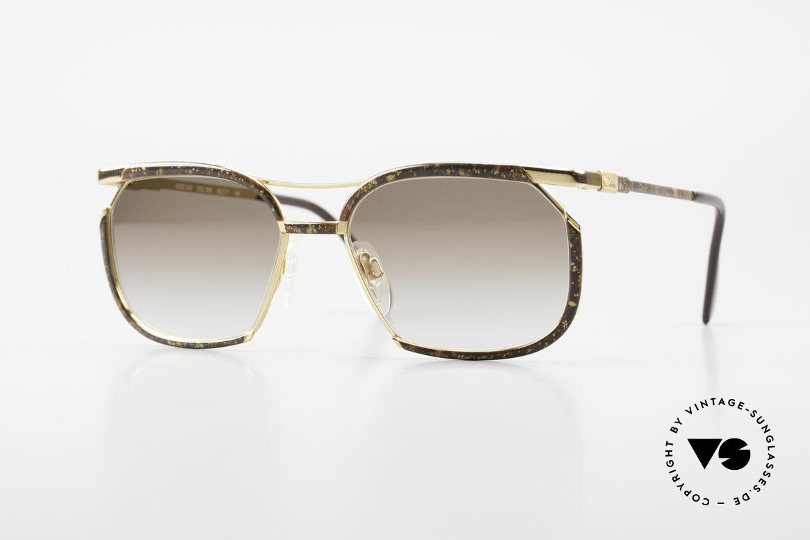 Cazal 243 Cari Zalloni Sonnenbrille 90er, feminine Cazal vintage Brille aus den frühen 90ern, Passend für Damen