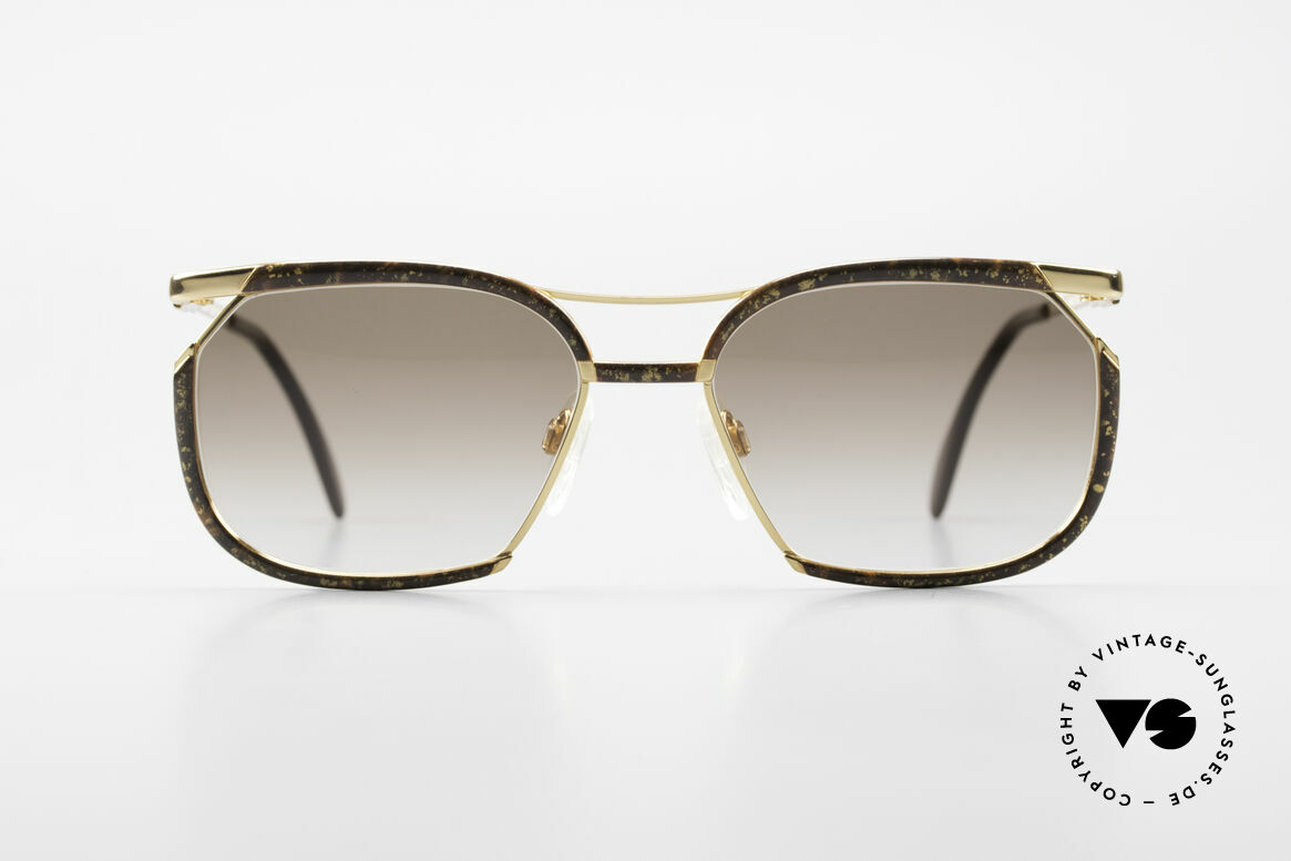 Cazal 243 Cari Zalloni Sonnenbrille 90er, ein altes ORIGINAL in dezent eleganter Lackierung, Passend für Damen