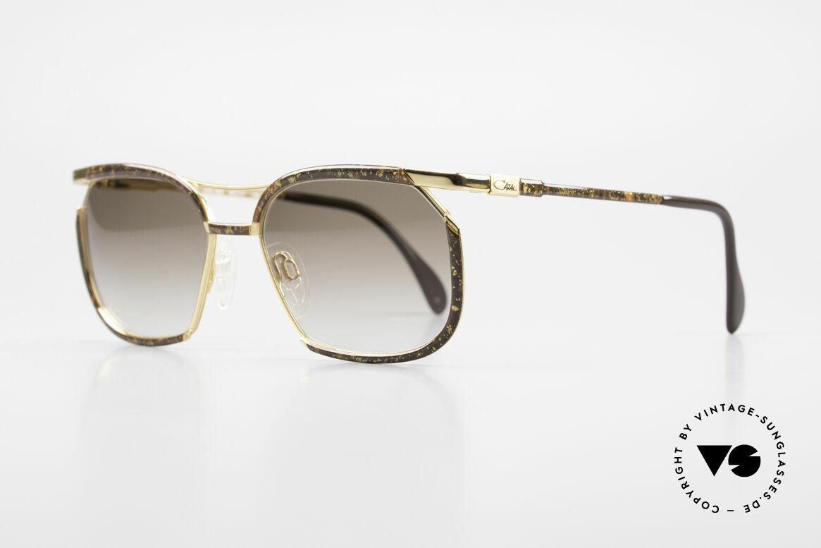 Cazal 243 Cari Zalloni Sonnenbrille 90er, vom Stardesigner der 1980er - Cari Zalloni (CAZAL), Passend für Damen