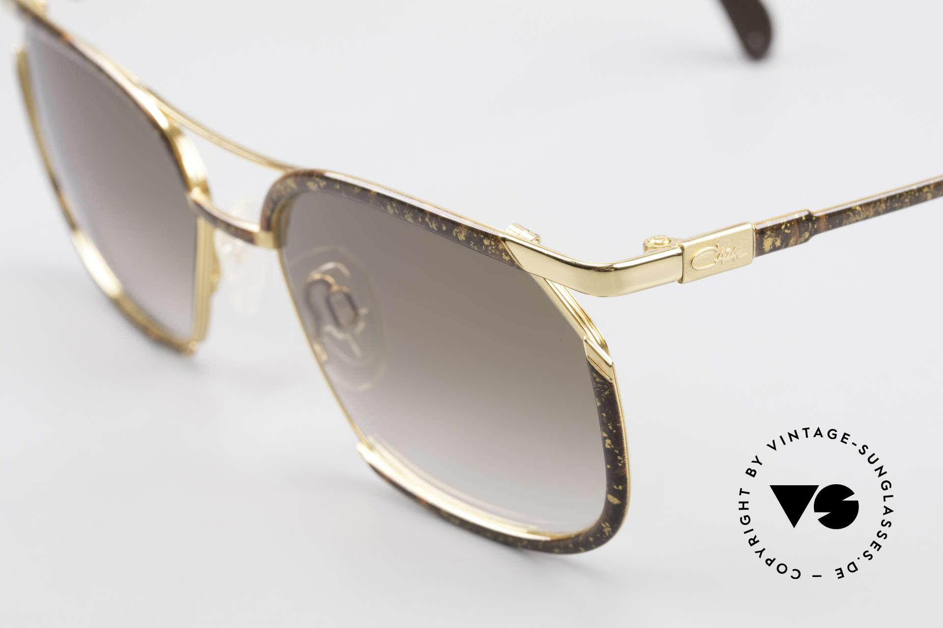 Cazal 243 Cari Zalloni Sonnenbrille 90er, ungetragen (wie alle unsere vintage Cazal Brillen), Passend für Damen