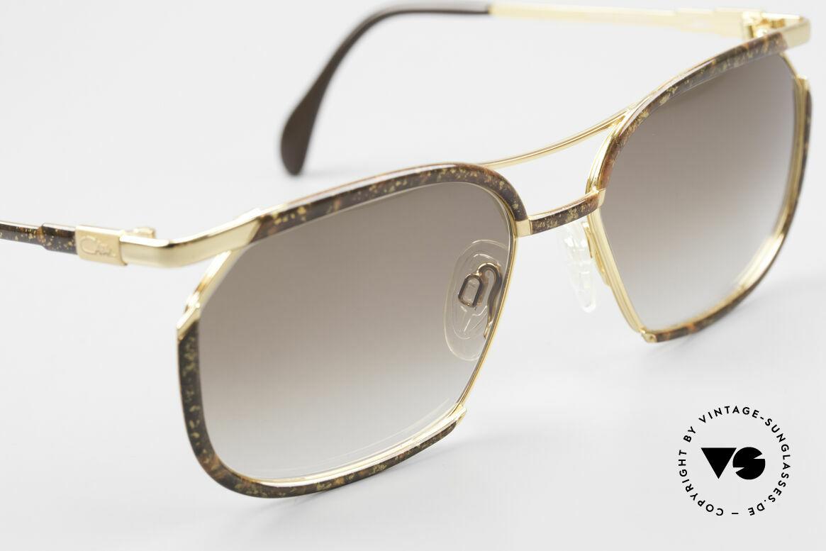 Cazal 243 Cari Zalloni Sonnenbrille 90er, KEINE RETROmode, ein ein seltenes altes Original, Passend für Damen