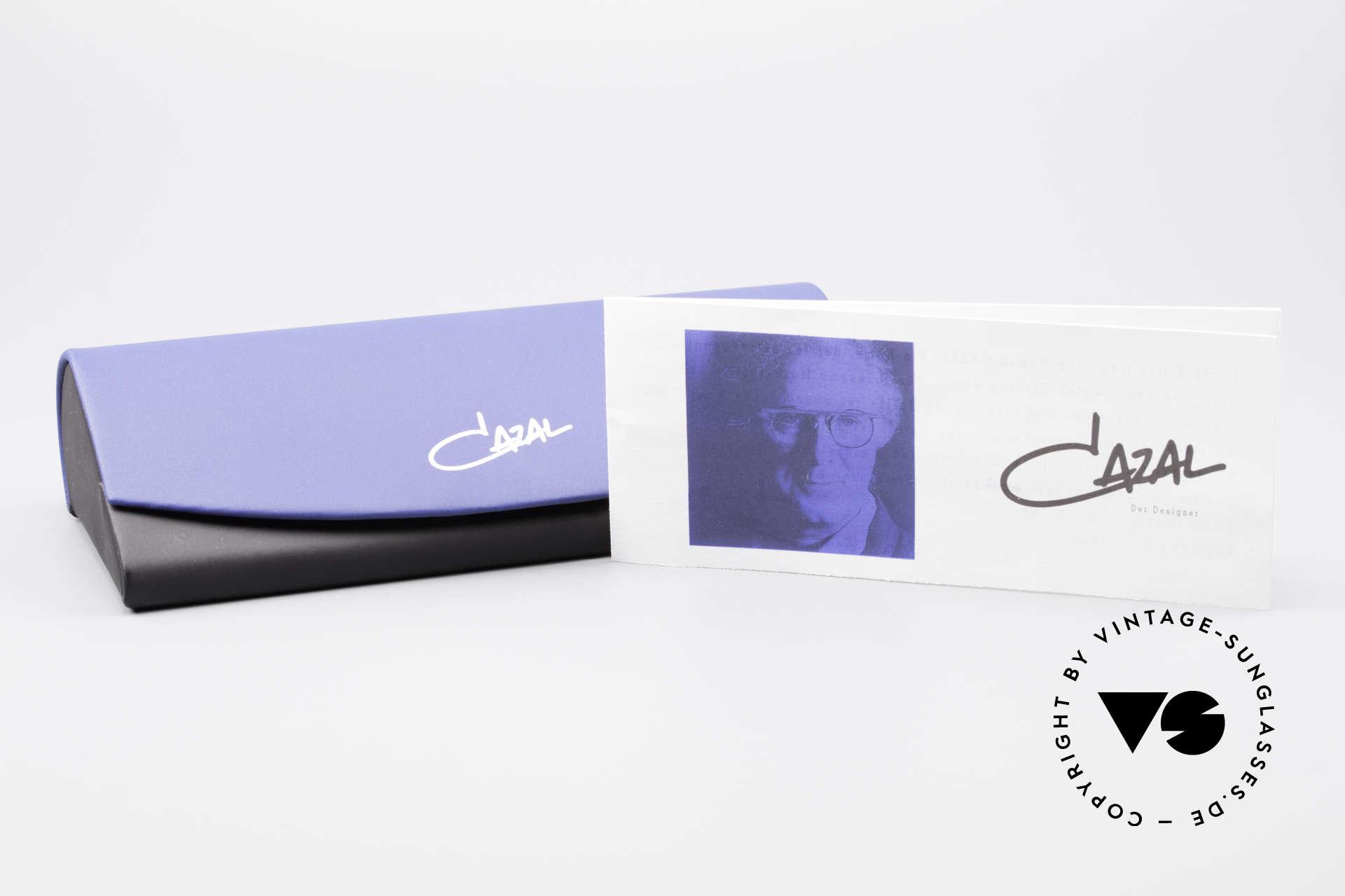 Cazal 243 Cari Zalloni Sonnenbrille 90er, Sonnengläser in braun-Verlauf für 100% UV Schutz, Passend für Damen